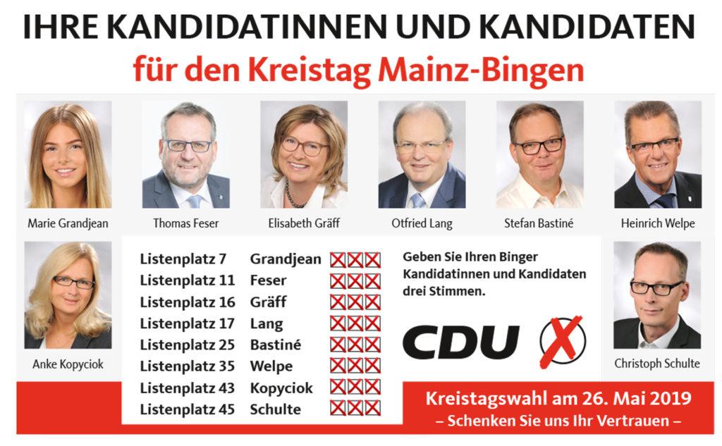 Kandidaten Kreistag